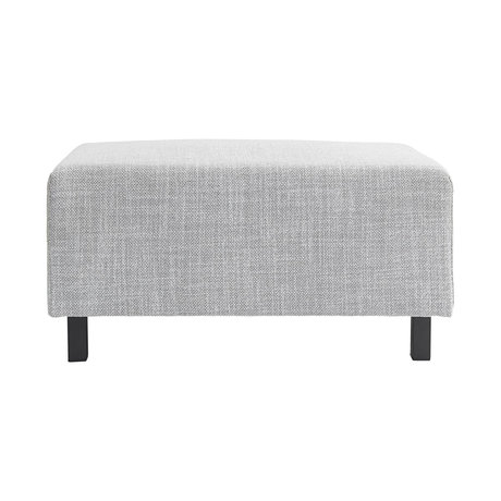 Housedoctor Hocker sofa element licht grijs 85x60x44cm