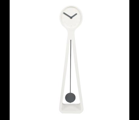 Zuiver Uhr Riese weiß 26,5x19x111,5 cm