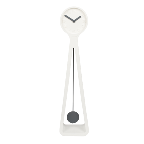 Zuiver Clock Giant white 26.5x19x111.5 cm