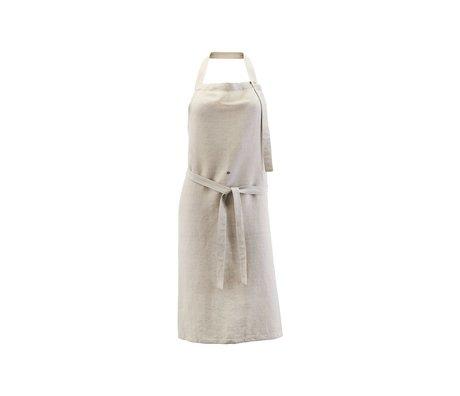 Nicolas Vahe Kitchen apron Linen gray linen cotton 90x84cm