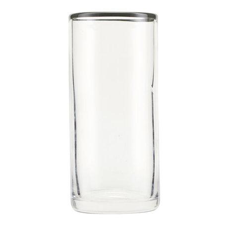 Nicolas Vahe Glass Grays gray glass Ø6.5x14.5cm