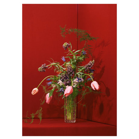 Paper Collective Poster Blomst 03 papier rouge 50x70cm