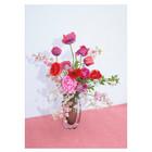 Paper Collective Poster Blomst 04 roze papier 50x70cm