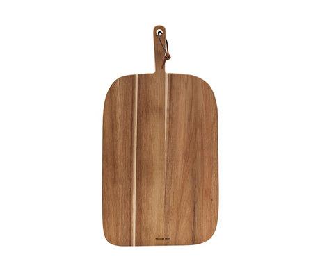 Nicolas Vahe Broodplank  Bread Acacia  bruin hout 51x27x2cm