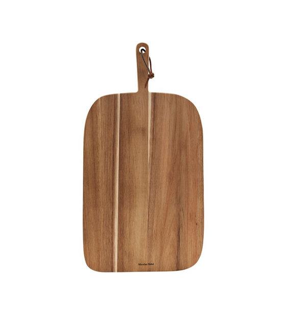 De Bruin Hout.Broodplank Acacia Bruin Hout 51x27x2cm
