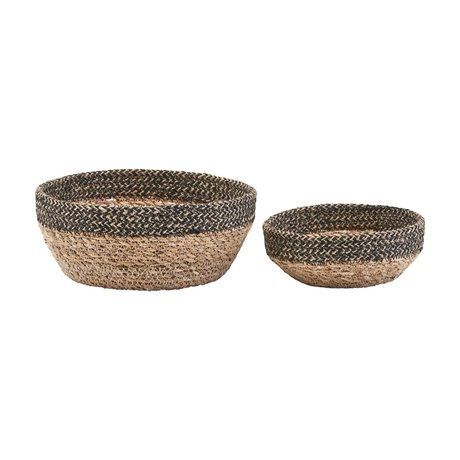 Housedoctor Storage baskets Bowl of sea grass set of 2