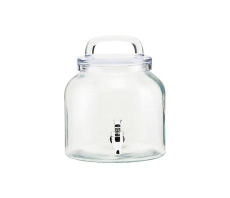 Housedoctor Robinet d'eau Verre glacé 4 litres ⌀18.5x21cm