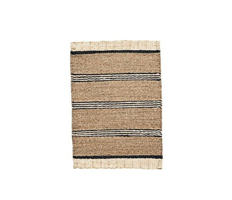 Housedoctor Rug Beach brown black and white sea grass 60x90cm