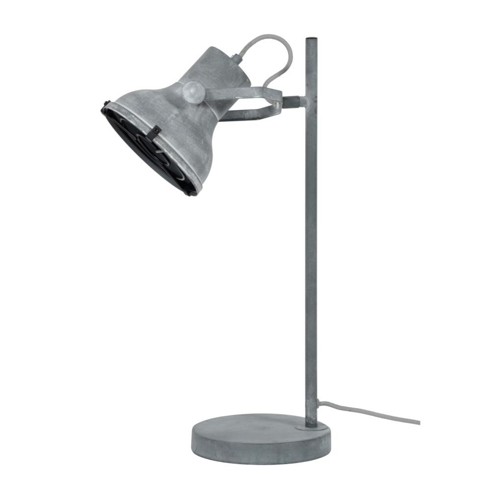 Tafellamp Pax beton grijs metaal 18x25x55cm wonenmetlef.nl