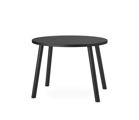 NOFRED toddler table mouse black wood 60x46x43.7cm