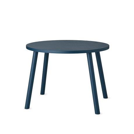 NOFRED Kleinkind Tisch Maus Petroleum blau Holz 60x46x43.7cm