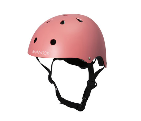 Banwood Bicycle helmet child Coral pink 24x21x17.5 cm