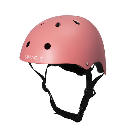 Banwood Fahrradhelm Kind Coral pink 24x21x17.5 cm