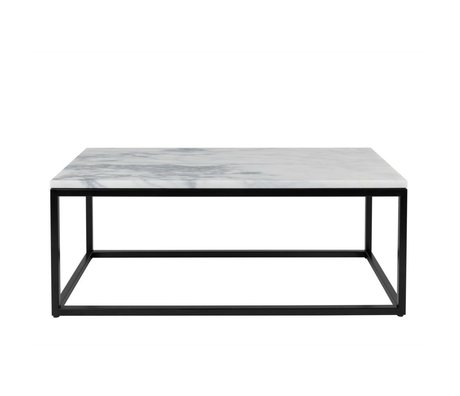 Zuiver Coffee table Marble Power marble 90x40x35cm damage