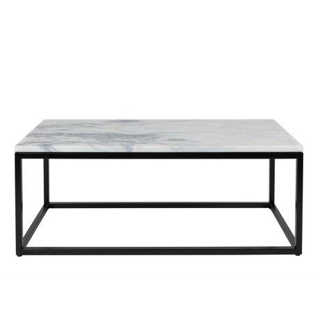 Zuiver Table basse Marble Power marbre 90x40x35cm dégâts