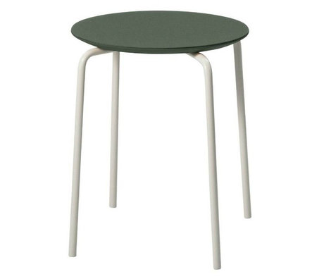 Ferm Living Tabouret Herman vert bois métal 35,5x43x30,5cm