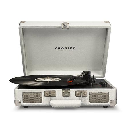 Crosley Radio Cruiser Deluxe - Sable Blanc 35.5x10.2x25.4cm