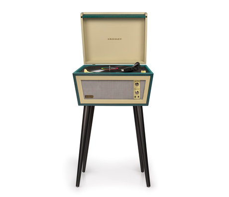 Crosley Radio Sterling Grün 44x35x22.5cm