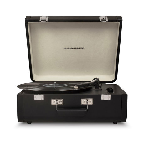 Crosley Radio Portfolio - Black 41.5x44x20.5cm
