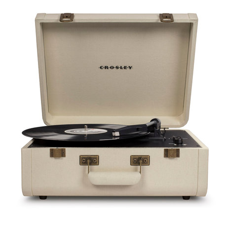 Crosley Radio Portfolio - Creme 41,5x44x20,5 cm