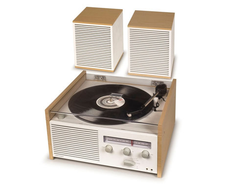 Crosley Radio Commutateur II - Naturel 38x35.5x20cm