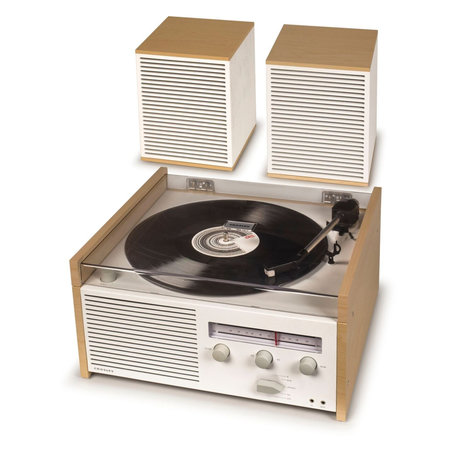 Crosley Radio Crosley Switch II - Naturel 38x35.5x20cm