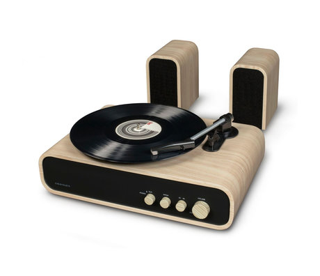 Crosley Radio Gig - Naturel 43x28x14cm