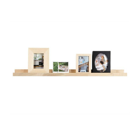 vtwonen Photo frame board untreated oak 6x100x10cm