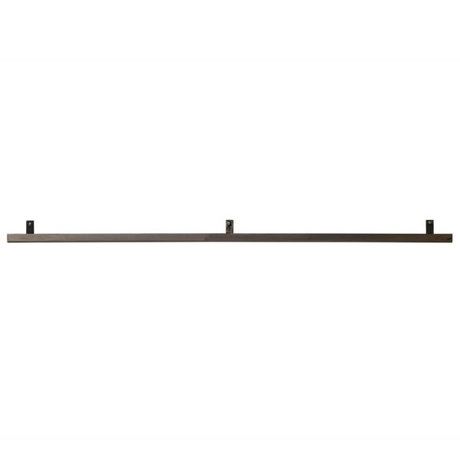 vtwonen Wall shelf gray metal 120x7,5x2,5cm