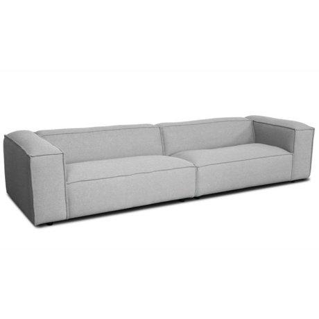 FÉST Bank Dunbar 3-seat gray sydney91 302x103cm