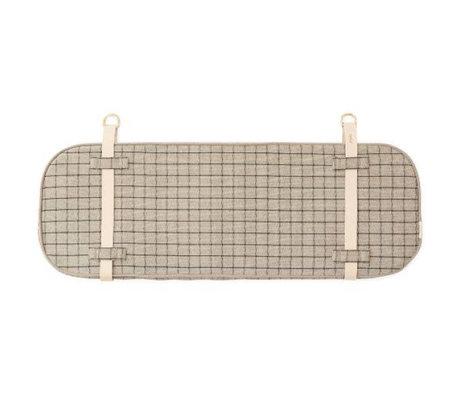 OYOY Headboard Hokei clay gray 94x32x4cm