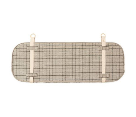 OYOY Tête de lit Hokei gris argile 94x32x4cm