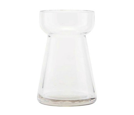 Housedoctor Vaas Hya transparant glas Ø7x10cm