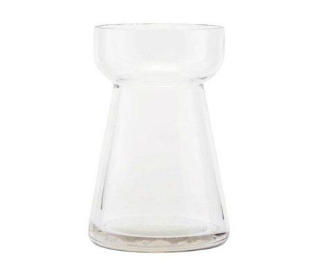Housedoctor Vase Hya verre transparent Ø7x10cm