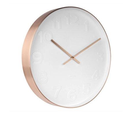 Karlsson M. Wall Clock Acier en cuivre blanc Ø51cm