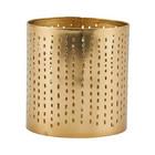Housedoctor Teelichthalter Wilma Messing Gold Eisen Ø8x8,5cm