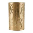 Housedoctor Teelichthalter Wilma Messing Gold Eisen Ø9,5x16cm