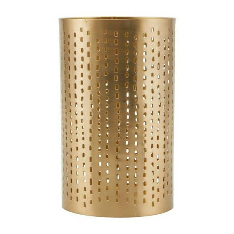 Housedoctor Tealight holder Wilma brass gold iron Ø9,5x16cm