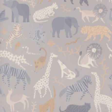 Ferm Living Behang Safari