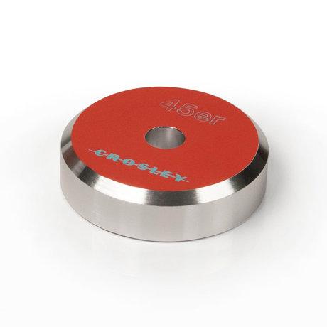 Crosley Radio 45'ER Aluminium adapter - Orange 3x3x1cm