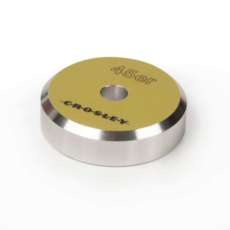 Crosley Radio 45'ER Aluminum adapter - Green 3x3x1cm