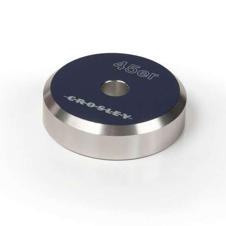 Crosley Radio 45'ER Aluminum adapter - Blue 3x3x1cm