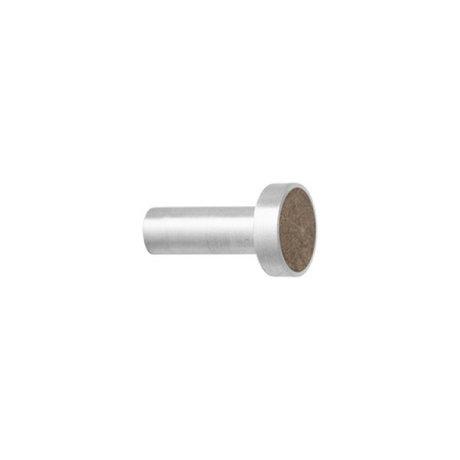 Ferm Living Haak Steel Marble Small bruin marmer Ø2x3,5cm