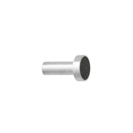 Ferm Living Haak Steel Marble Small zwart marmer Ø2x3,5cm