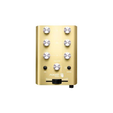 Crosley Radio Pokket Mixer - Champagner 11x7.8x2.7cm