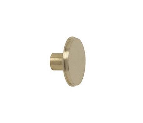 Ferm Living Wandhaak large goud metaal Ø5x2.5cm