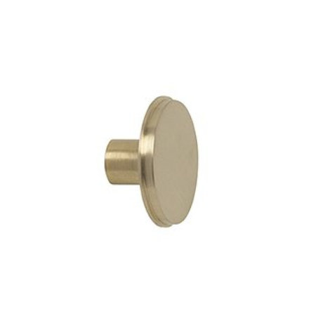 Ferm Living Wandhaken große Gold-Metall-Ø5x2.5cm