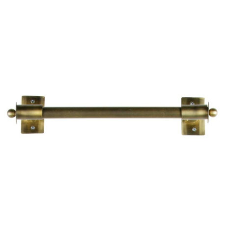WOOOD Wandrek Pleun brass goud metaal M 44x13x8cm