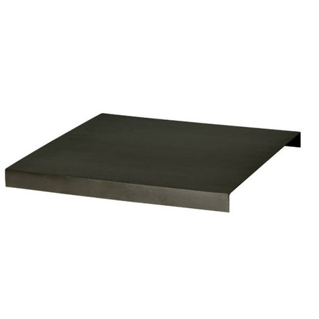 Ferm Living Tray for plant box black metal 26x26x2,5cm