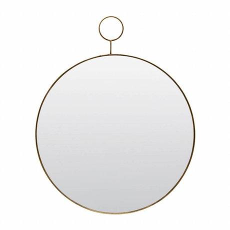 Housedoctor Spiegel The Loop glas metaal Ø32cm